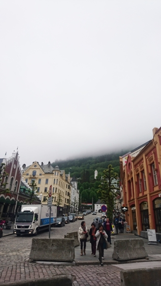 Clouds over Bergen