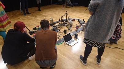 Workshoping Slot Car Music